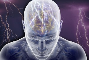 Brain Injury of All Sizes can Trigger Grand Mal Seizure electric signals in human brain